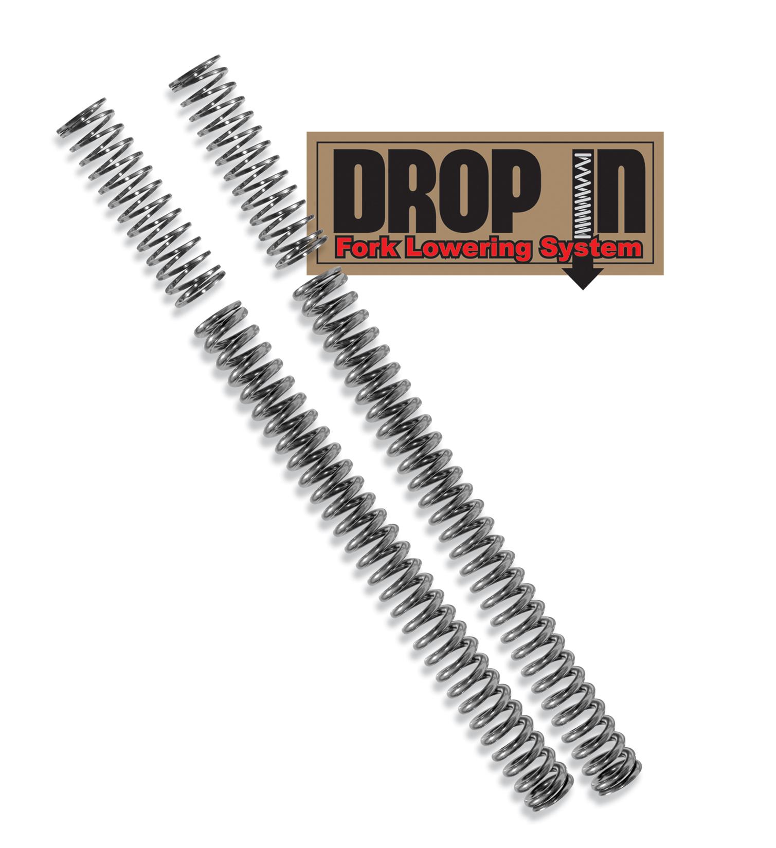Fork Lowering Kit Quot Drop In Quot Progressive Suspension